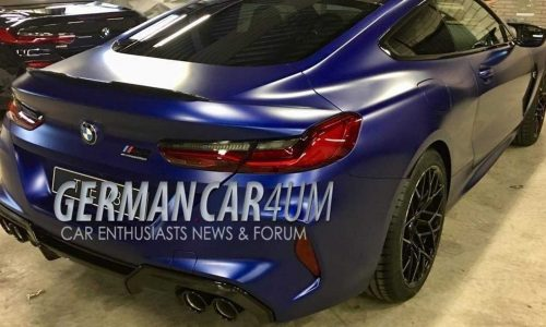 BMW M8 spotted, potentially confirms Competition variant