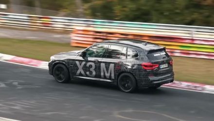 BMW X3 M continues testing, sounds very M3 (video)