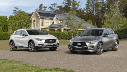 2019 Infiniti Q30 & QX30 updates announced for Australia