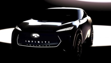 Infiniti previews electric crossover concept for Detroit show