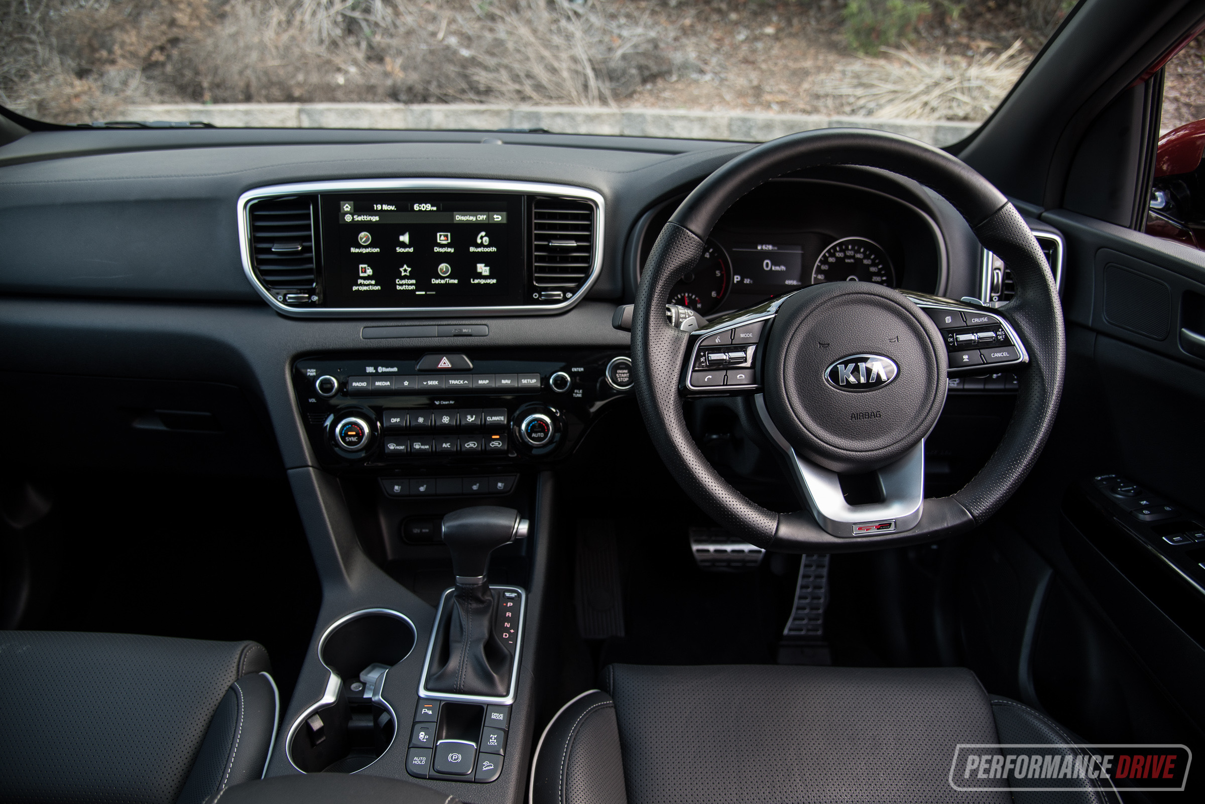 2019 kia sportage gt line review video performancedrive. Black Bedroom Furniture Sets. Home Design Ideas