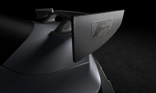 Lexus RC F Track Edition previewed before Detroit show debut