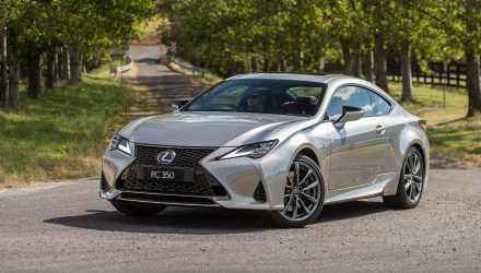 2019 Lexus RC now on sale in Australia from $66,174
