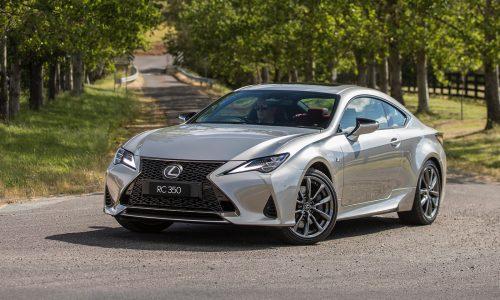 2019 Lexus RC now on sale in Australia from $66,174