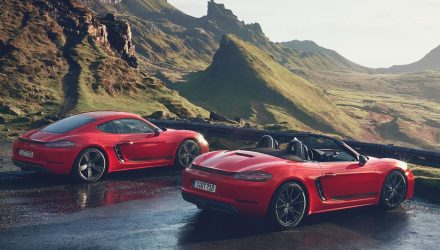 Porsche 718 Boxster T & 718 Cayman T officially revealed