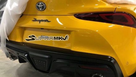 2020 Toyota Supra rear end design revealed