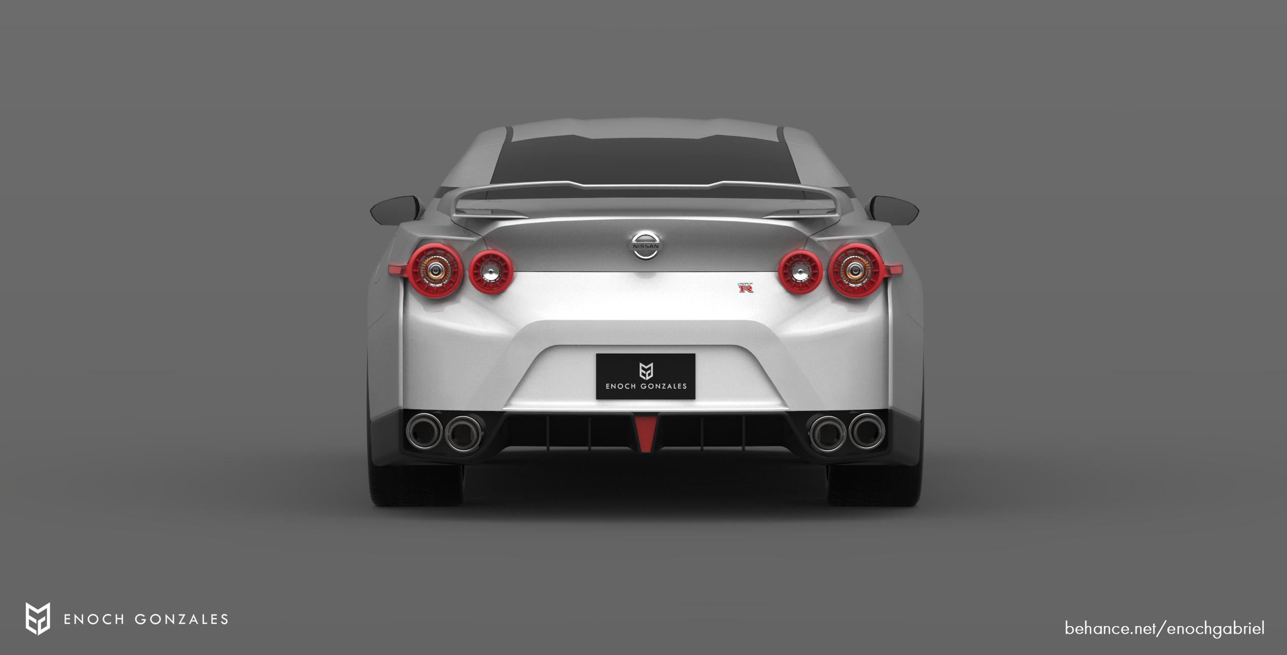 2021 R36 Nissan GT-R rendered, looks sharp | PerformanceDrive