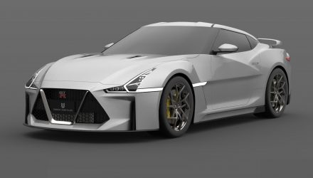2021 R36 Nissan GT-R rendered, looks sharp