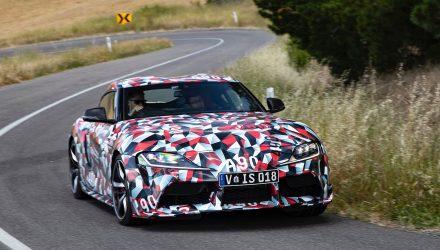 New Toyota Supra undergoes testing in Australia