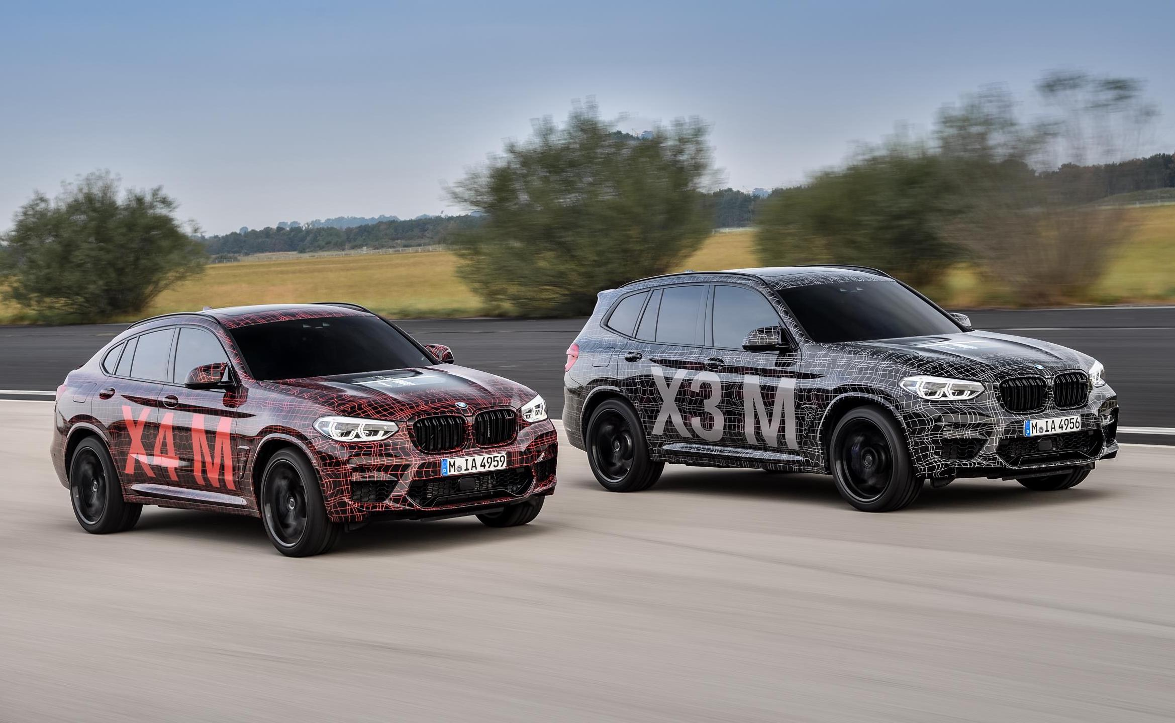 Bmw X3 M Continues Testing Sounds Very M3 Video Performancedrive