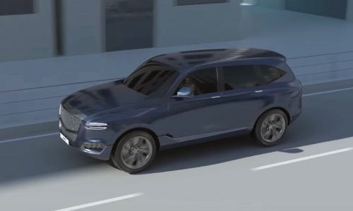 Genesis GV80 SUV potentially previewed in unrelated video