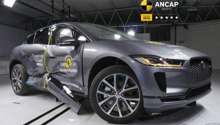 Jaguar I-PACE, Genesis G70 score 5-star ANCAP rating