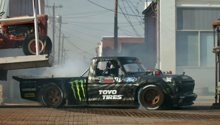 Video: Ken Block Gymkhana Ten – The Ultimate Tire Slaying Tour