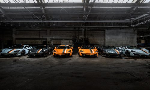McLaren MSO creates 'racing through the ages' special editions