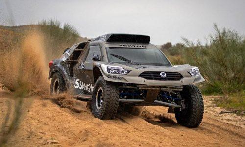 SsangYong Rexton DKR rally car revealed for 2019 Dakar