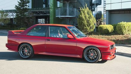 Vilner completes BMW E30 M3 project, will cause wet dreams