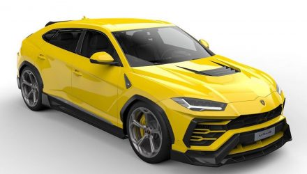 Vorsteiner creates complex aero kit for Lamborghini Urus