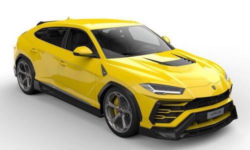 Vorsteiner creates complex aero kit for Lamborghini Urus