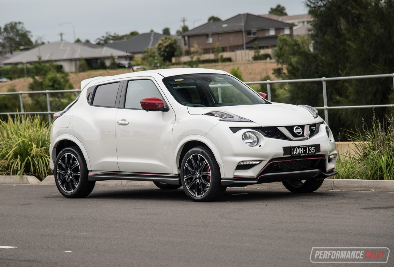 2018 nissan juke nismo rs review video performancedrive. Black Bedroom Furniture Sets. Home Design Ideas