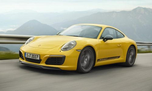 Porsche sets another annual sales record, 2018 figures up 4%