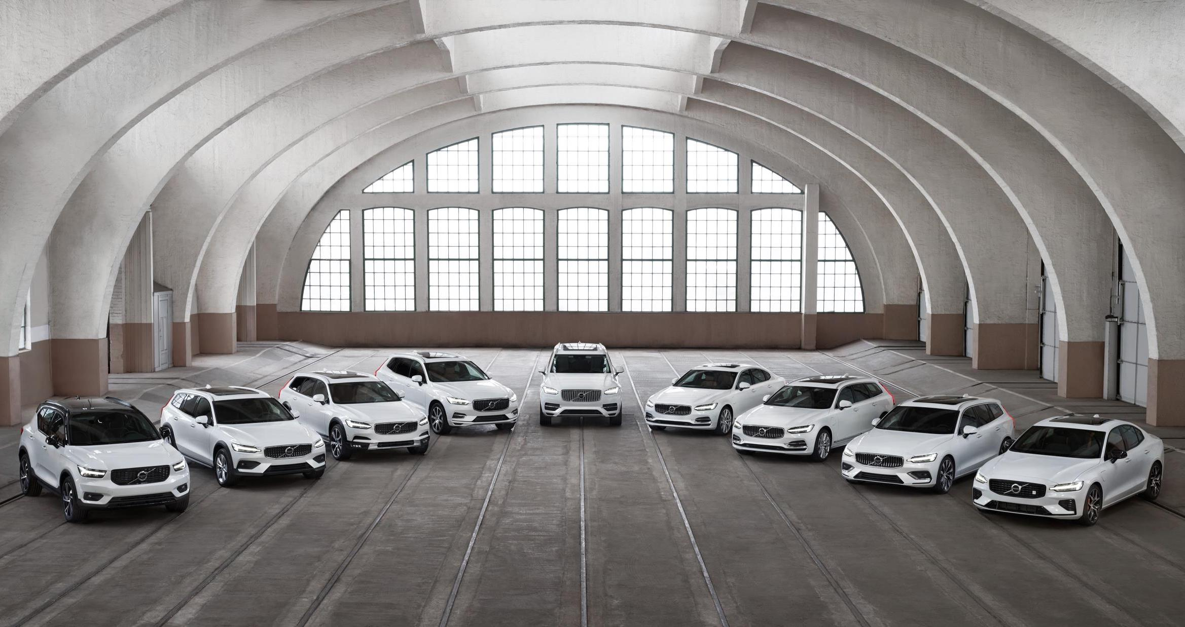 Volvo sets record global sales in 2018, up 12.4%