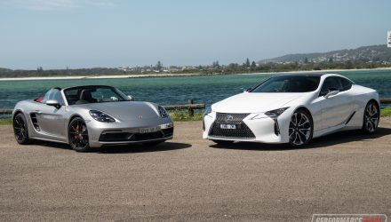 Lexus LC 500 vs Porsche Boxster GTS: $200k sports car comparison