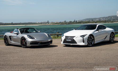Lexus LC 500 vs Porsche Boxster GTS: $200k sports car comparison