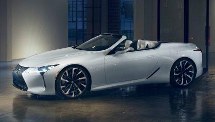 Lexus LC convertible concept previews stunning drop-top