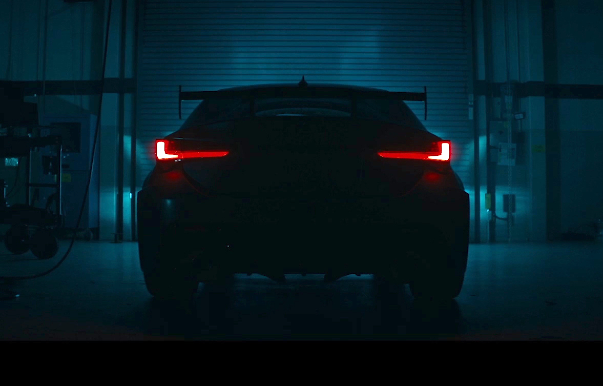 Lexus RC F Track Edition previewed again, shows fat rear wing