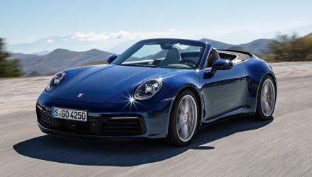2019 Porsche 911 Cabriolet debuts in Carrera S form