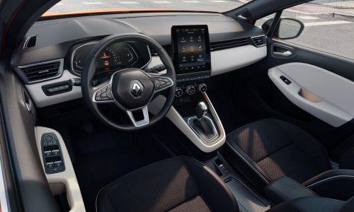 2019 Renault Clio interior goes big on technology