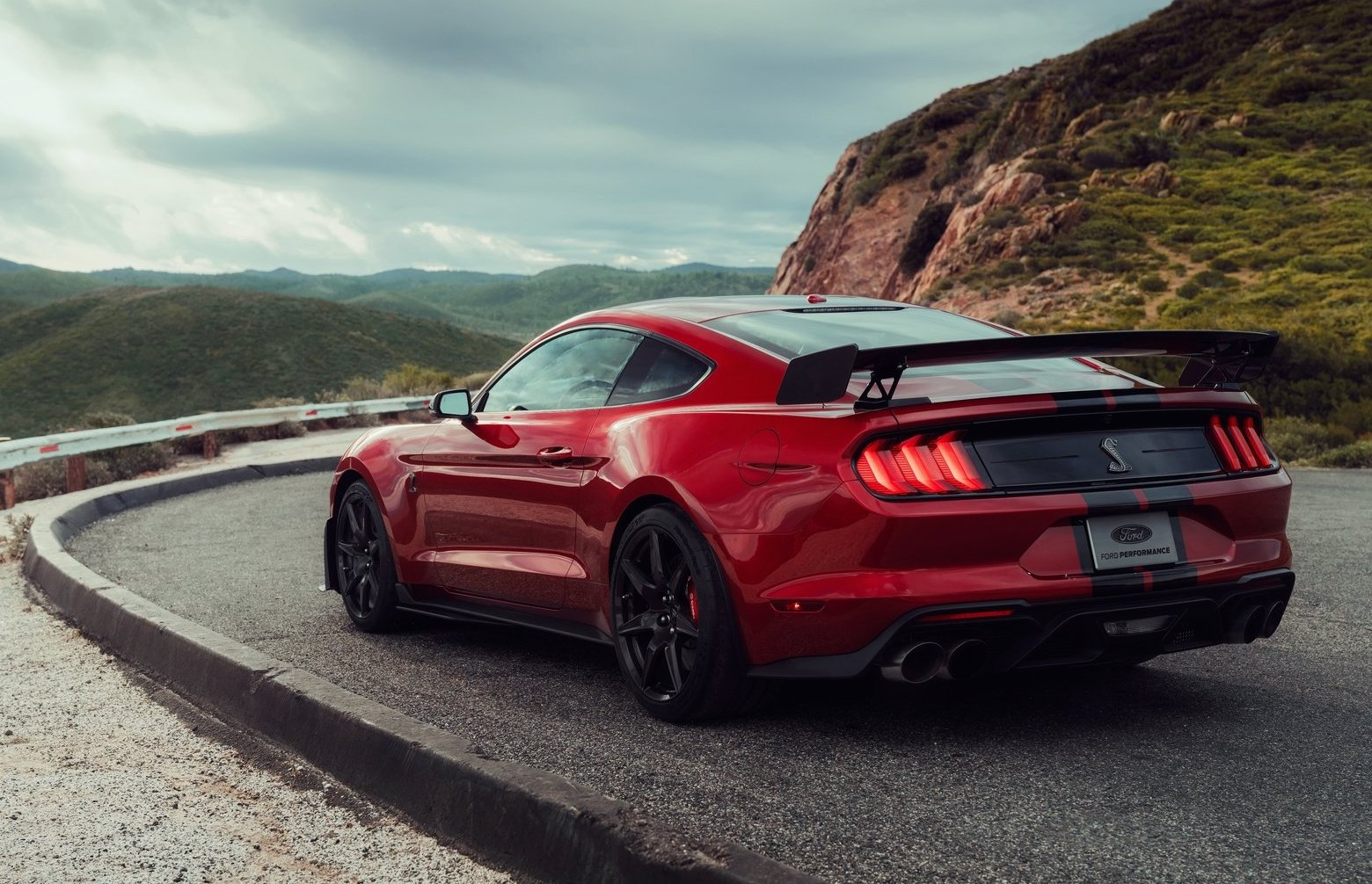 2020 ford mustang shelby gt500 rear wing