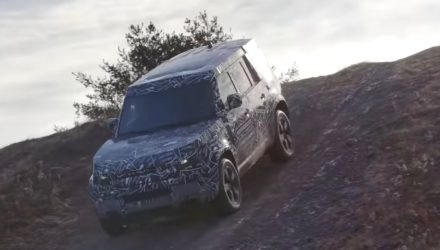 "2020 Land Rover Defender previewed, ""most capable yet"" (video)"