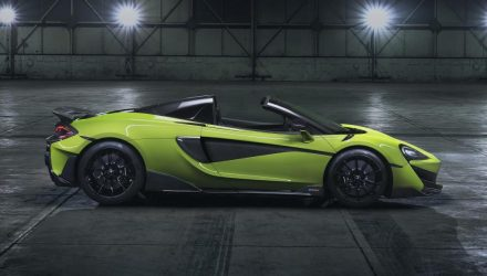 McLaren 600LT Spider becomes new flagship Sports Series