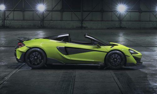McLaren 600LT Spider becomes new flagship Sports Series
