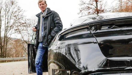 "Walter Rohrl tests Porsche Taycan, ""tremendous"" performance"