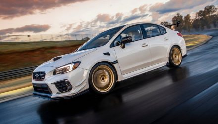 Subaru WRX STI S209 unveiled at Detroit show, for USA only
