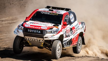 Toyota HiLux wins 2019 Dakar rally