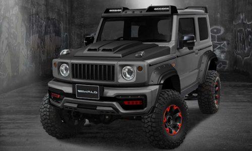 Wald creates attitude-packed Suzuki Jimny Black Bison kit