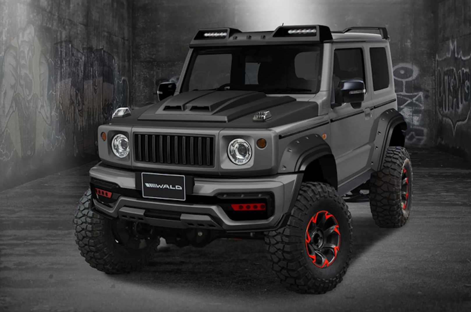 Wald Creates Attitude Packed Suzuki Jimny Black Bison Kit