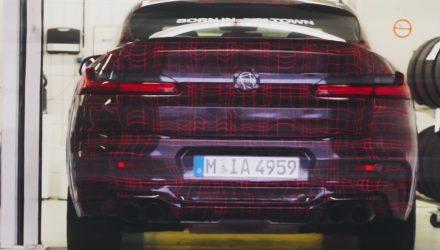 BMW X3 M & X4 M previewed, 10.5L/100km confirmed (video)