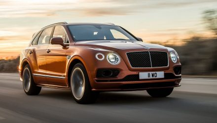 Bentley Bentayga Speed revealed, world's fastest SUV