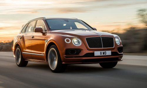 Bentley Bentayga Speed revealed, world's fastest SUV