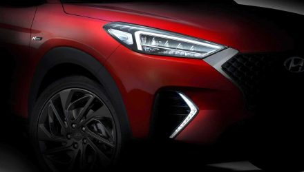 Hyundai Tucson N Line package coming soon