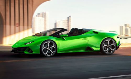 Lamborghini Huracan EVO Spyder revealed