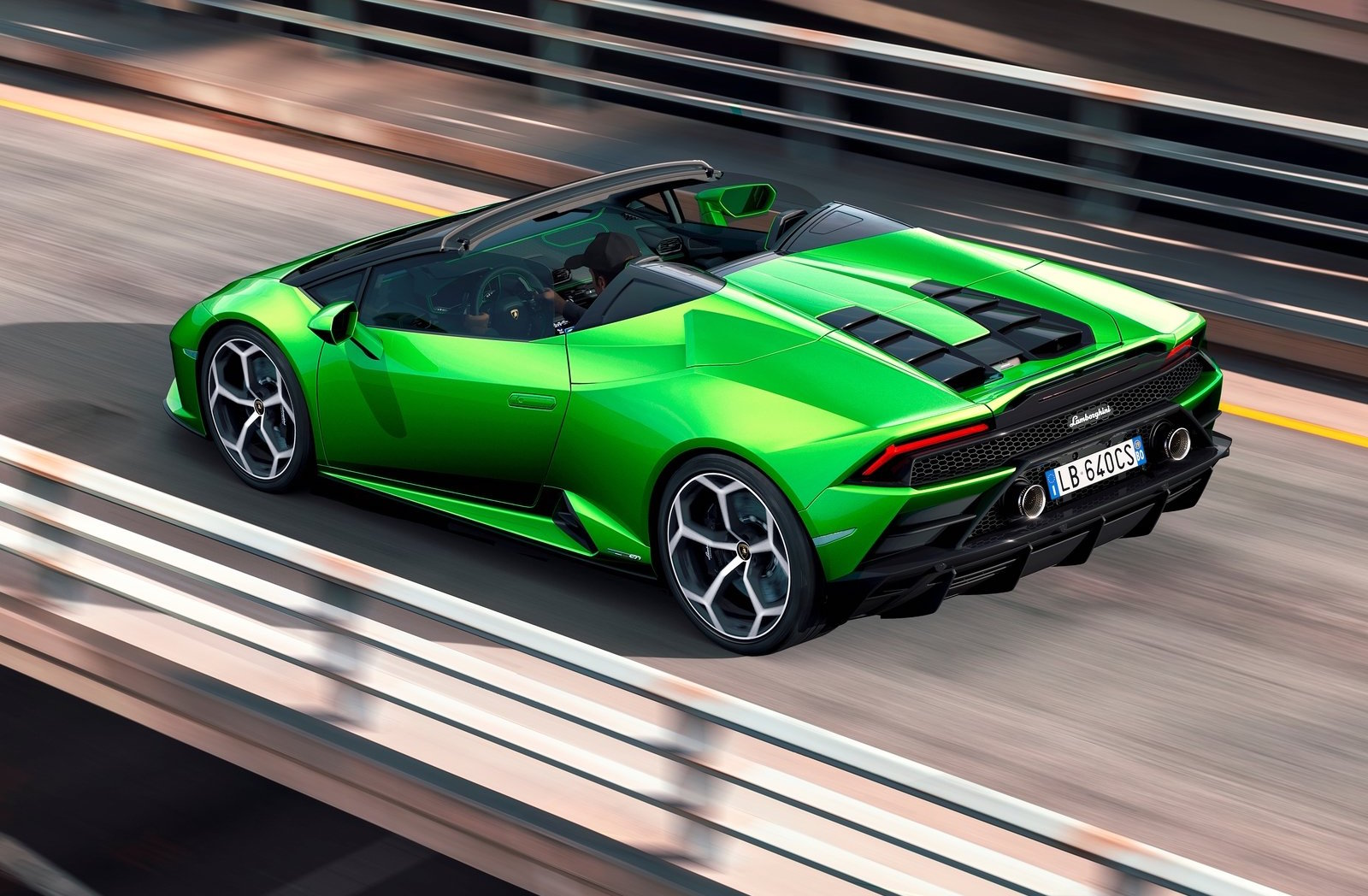 Lamborghini Huracan Evo Spyder Revealed Performancedrive