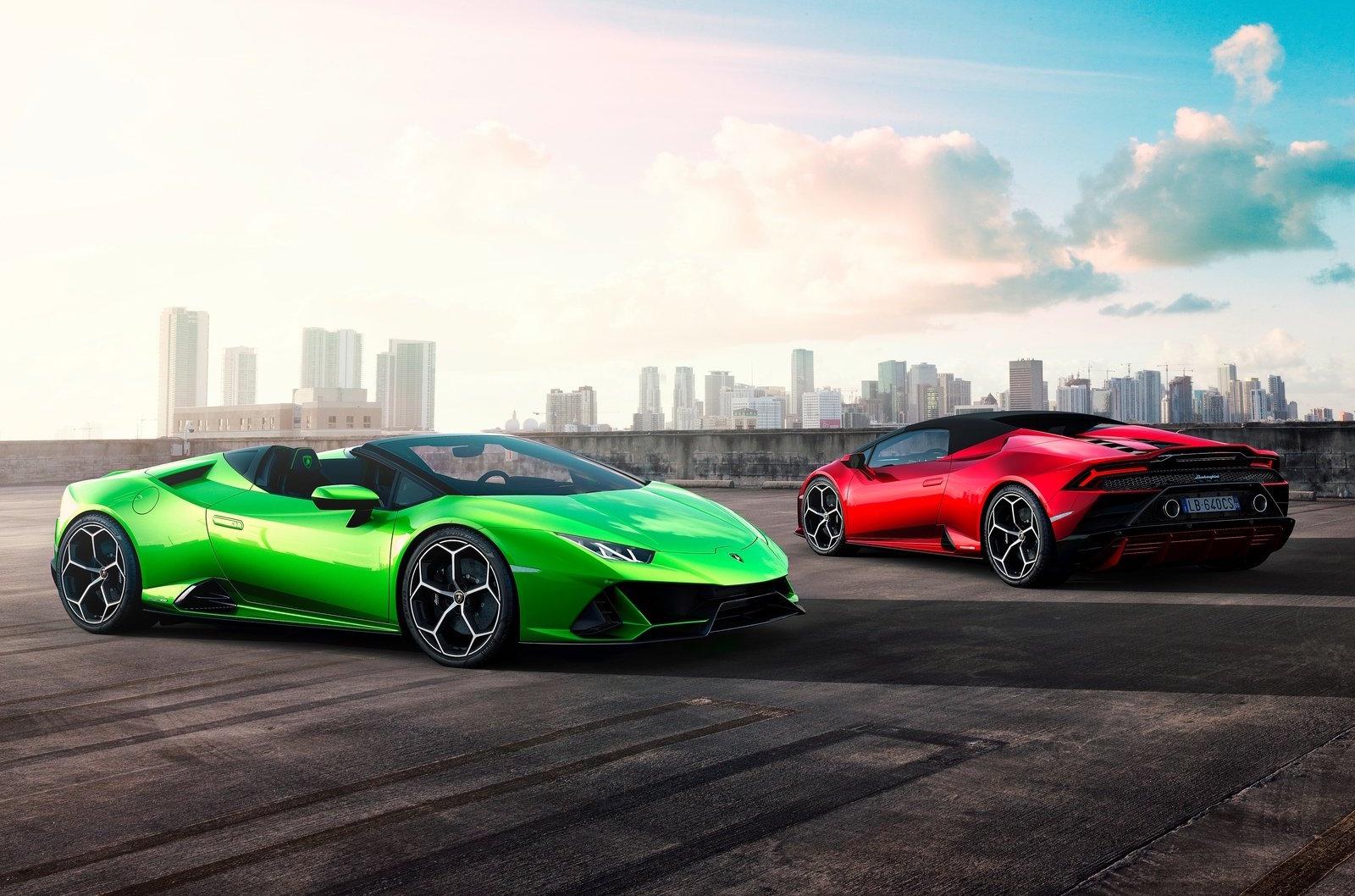Lamborghini Huracan Evo Spyder Revealed Performancedrive