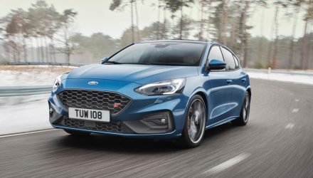 2020 Ford Focus ST revealed, most powerful version yet