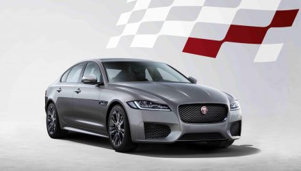 MY2020 Jaguar XF announced with Chequered Flag edition