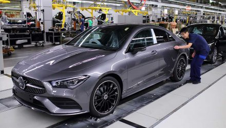 2020 Mercedes-Benz CLA production commences